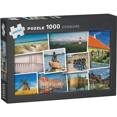Kärnan Pussel 1000 Bitar Denmark, 580017