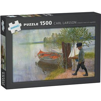 Kärnan Pussel 1500 Bitar Carl Larsson Esbjörn med sin, 590003