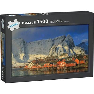 Kärnan Pussel 1500 Bitar Norway Lofoten, 590005