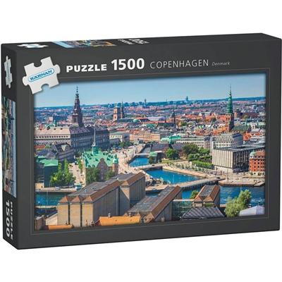 Kärnan Pussel 1500 Bitar Copenhagen Denmark, 590006