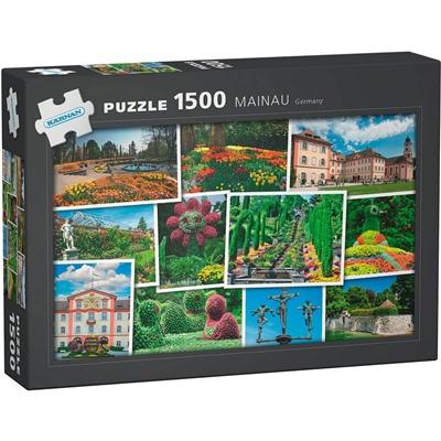 Kärnan Pussel 1500 Bitar Mainau Germany, 590008