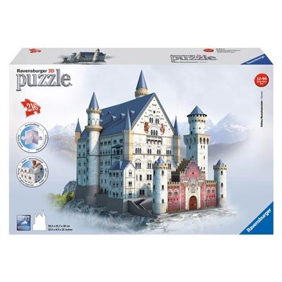 Ravensburger 3D Pussel 216 Bitar Neuschwanstein Castle, 125739