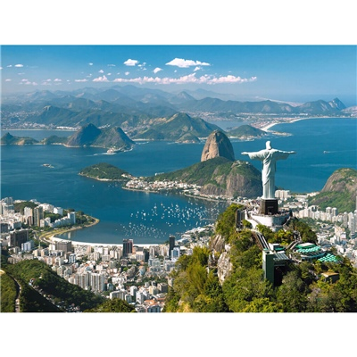 Ravensburger Pussel 1500 Bitar View of Rio, 163175