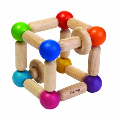 PlanToys Square Clutching Toy, 5245PT