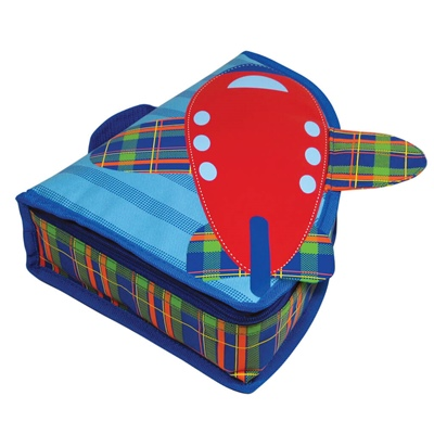 Neat-Oh Plaid Pals Albert Airplane Lunch Box, A1827XX