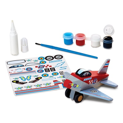 Melissa & Doug Decorate-Your-Own Airplane, 19518