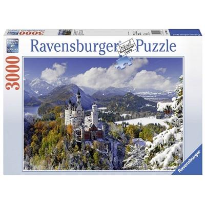 Ravensburger Pussel 3000 Bitar Neuschwanstein Castle Winter, 170623