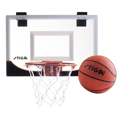 "Stiga Basketkorg med Boll Mini Hoop 18"", 81-4801-18"