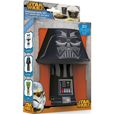Star Wars Darth Vader Stacking Meal Set, 53-59777
