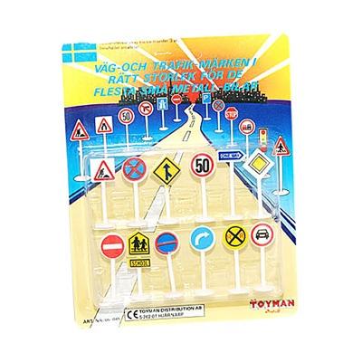 Väg- och Trafikmärken 12-Pack, 06-045