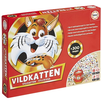 Educa Vildkatten Classic 300, 16438