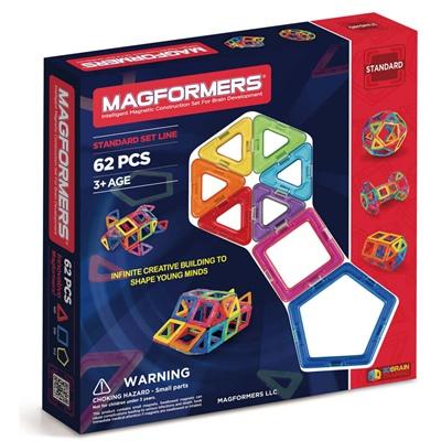 Magformers Standard Set Line 62 Delar, 63070