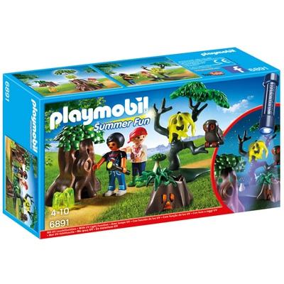 Playmobil Lämning i Skogen med UV-lampa, 6891