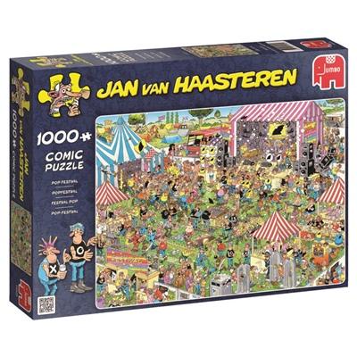 Jan van Haasteren Pussel 1000 Bitar Pop Festival, 19028
