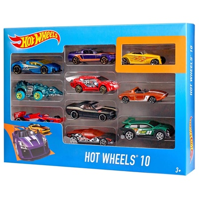 Hot Wheels Bilar 10-pack, 54886