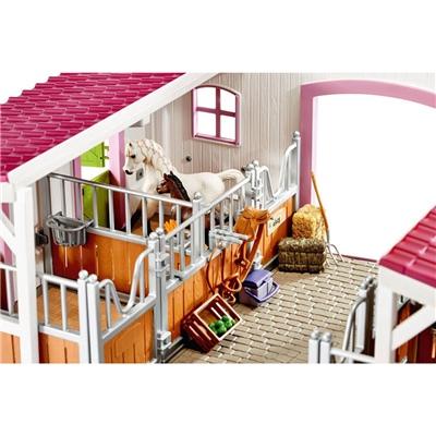 Schleich Horse Club Ridcenter med Hästar och Tillbehör, 42344