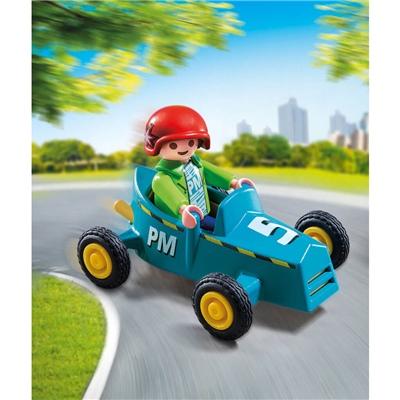 Playmobil Pojke med Lådbil, 5382