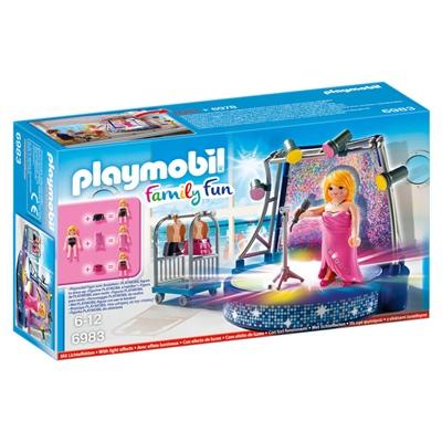 Playmobil Sångare med Scen, 6983