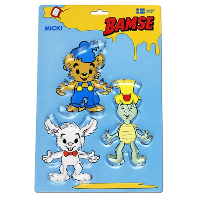 Micki Bamse Bakformar, 64.0016