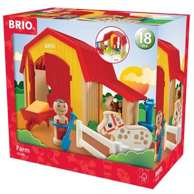 BRIO Bondgård, 30398
