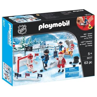 Playmobil Adventskalender NHL Rivalitet på Dammen, 9017