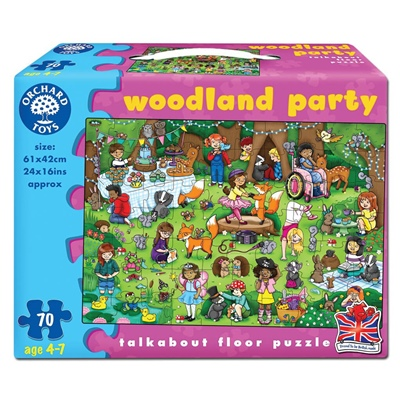 Orchard Toys Pussel 70 Bitar Woodland Party, 269