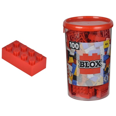 BLOX Bricks in Box Röd, 104118905