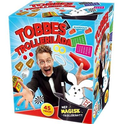 Kärnan Tobbes Trollerilåda med Magisk Trollerihatt, 660062