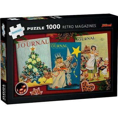 Kärnan Pussel 1000 Bitar Retro Magazines, 580023
