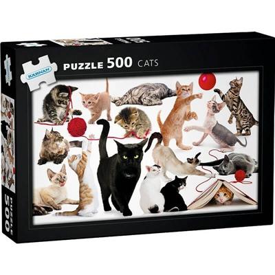 Kärnan Pussel 500 Bitar Cats, 570015