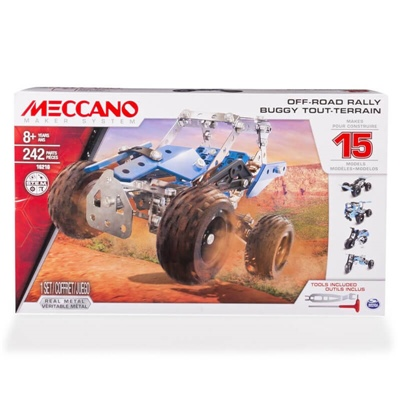Meccano 15 Model Set Off-Road Rally, 16210