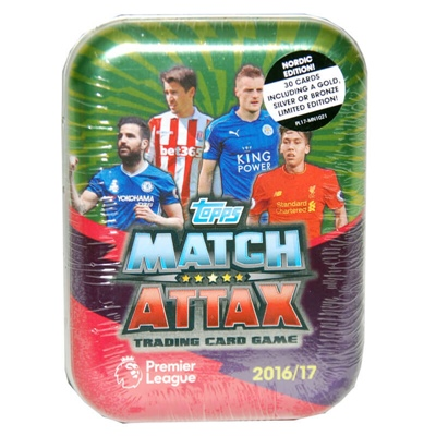 Topps Match Attax Premier League Pocket Tin 2016/2017, 7212012