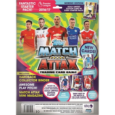 Topps Match Attax Premier League Starter 2016/2017, 7212011