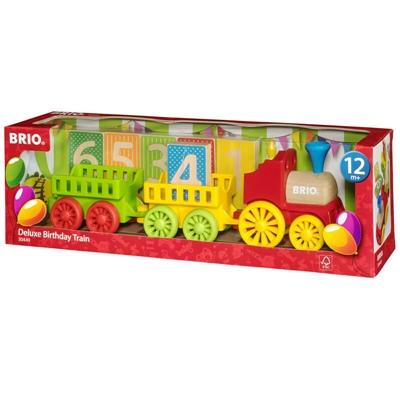 BRIO Lyxigt Födelsedagståg, 30449