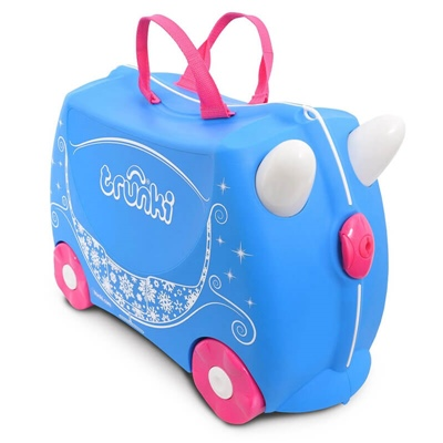 Trunki Resväska Princess Carriage Pearl, 0259-GB01