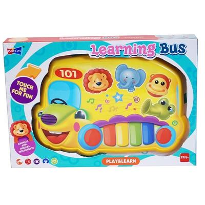 Play & Learn Musikplatta Learning Bus, 2427