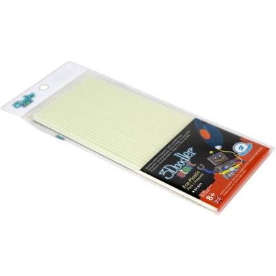 3Doodler Start Plastic Packs Glow in the Dark 24-Pack, 3DS-ECO09-GLOW-24