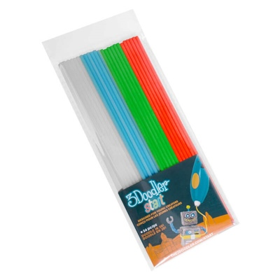 3Doodler Start Plastic Packs Mixade Färger 2, 3DS-ECO-MIX2-24