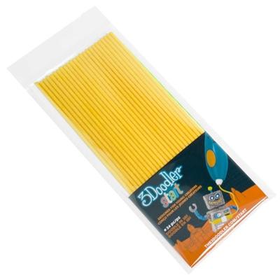 3Doodler Start Plastic Packs Gul 24-Pack, 3DS-ECO04-YELLOW-24