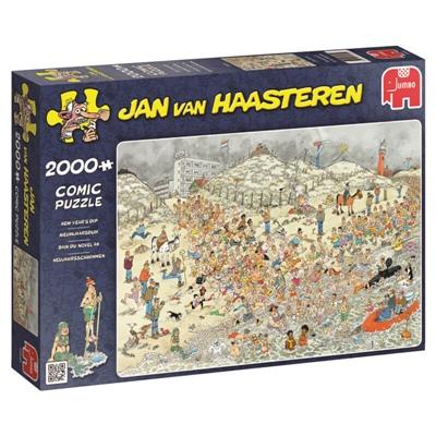 Jan van Haasteren Pussel 2000 Bitar New Year´s Dip, 19040