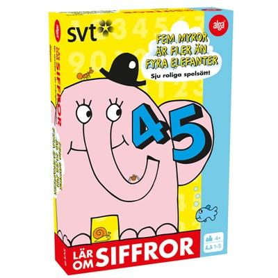 Alga Fem Myror är Fler än Fyra Elefanter - Siffror, 38010-694