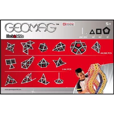 Geomag Black & White 68 Delar, 012G
