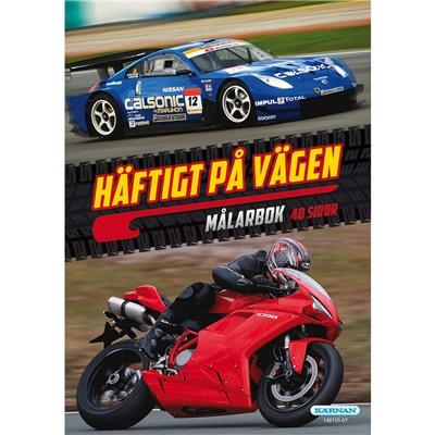 Kärnan Målarbok Häftigt på vägen, 148155