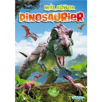 Kärnan Målarbok Dinosaurier, 148162