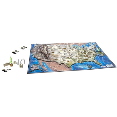 4D Cityscapes Time Puzzle USA 950 Bitar, 40008