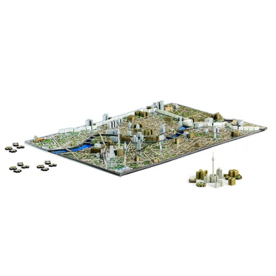 4D Cityscapes Time Puzzle Berlin Tyskland 1300 Bitar, 40022