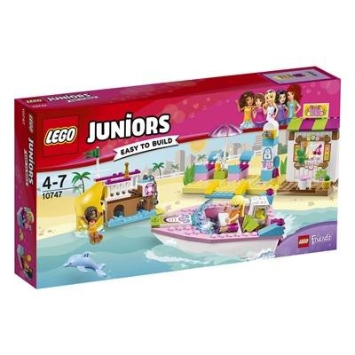 LEGO Juniors Andreas och Stephanies Strandsemester, 10747