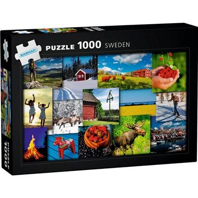 Kärnan Pussel 1000 Bitar Sweden, 580030