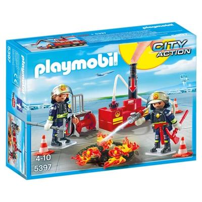 Playmobil Brandsläckning med Vattenpump, 5397