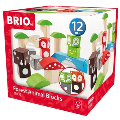 BRIO Forest Animal Blocks, 30439